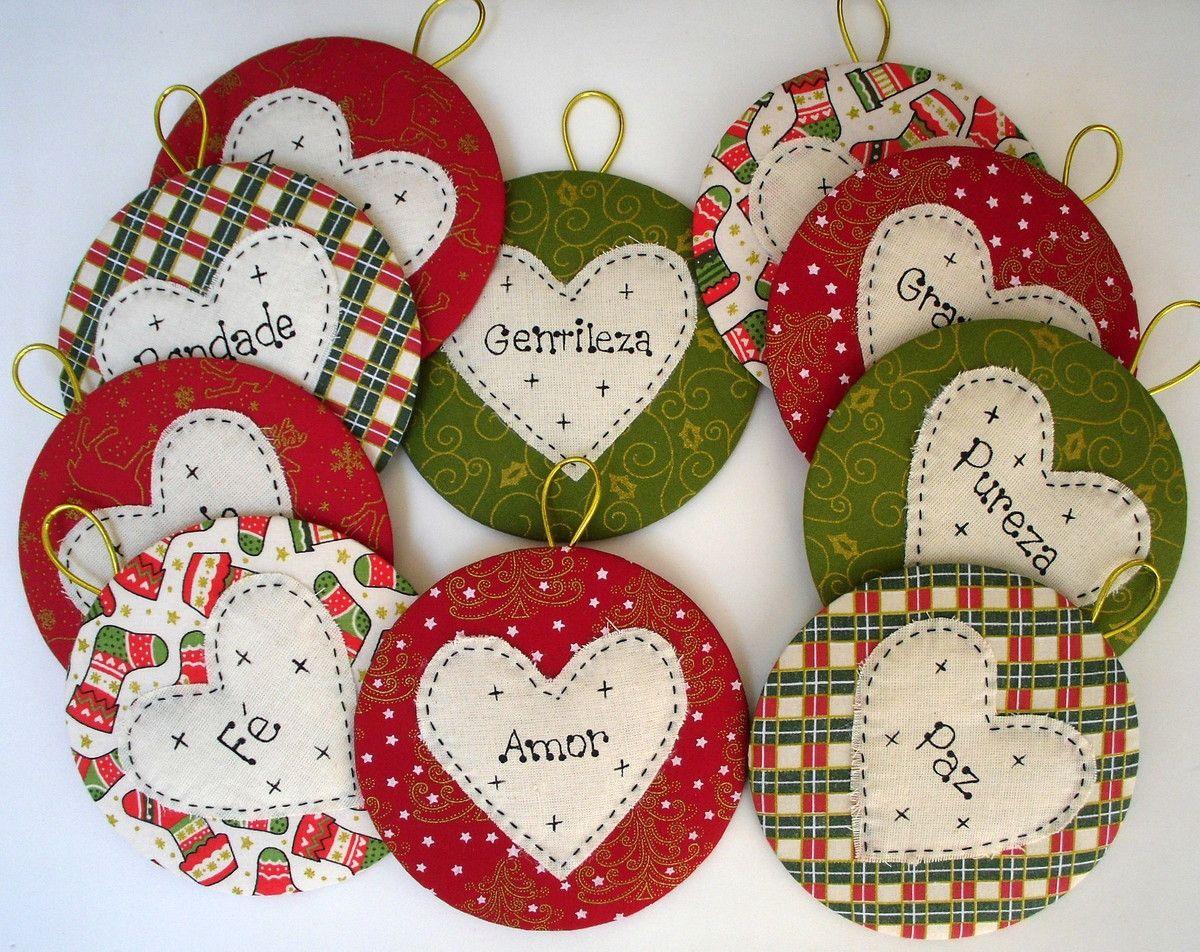 Artesanato Vintage Passo A Passo ~ artesanato em tecido motivos natal Resultados Yahoo