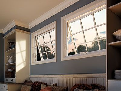 Windows :) Pella® 350 Series Awning Window   Traditional   Living Room    Pella Windows And Doors