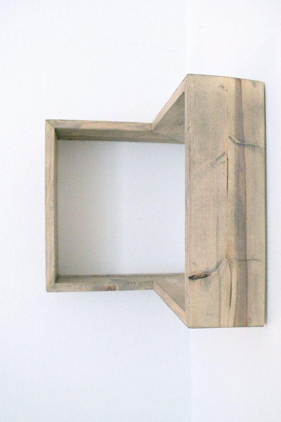 projects idea of corner wall shelving. Corner Box Shelf  shelves Shelves and Shelving