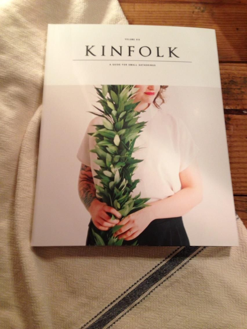 We have a few back issues of kinfolk....volume seven is on the way!!!