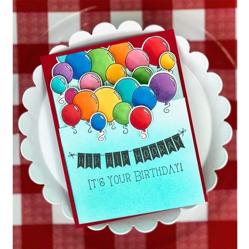 Happy Birthday Clear Silicone Seal Stamp DIY Album Scrapbooking Photo Card Decor