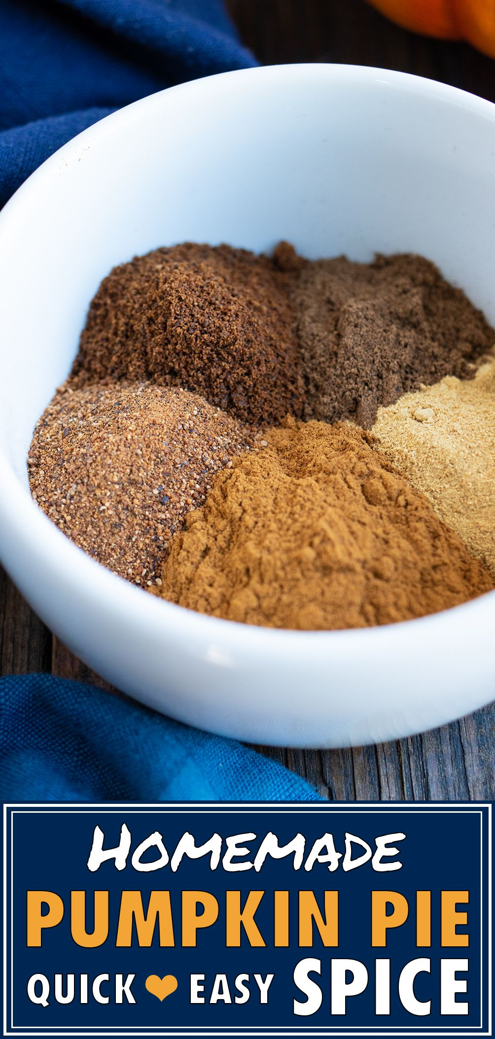 Pumpkin Pie Spice Recipe Homemade pumpkin pie spice