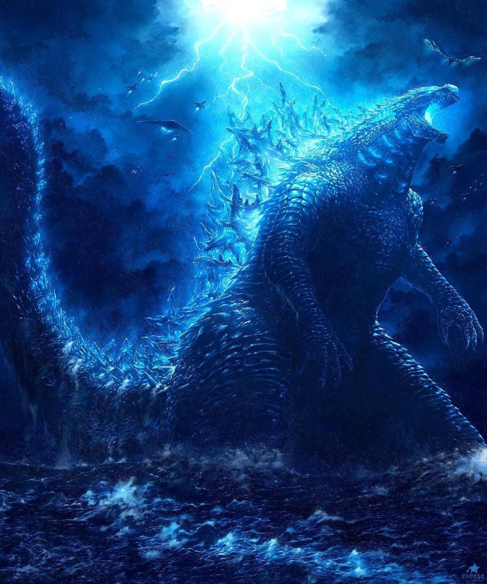 Hoshi Cheese 𝕔𝕙𝕖𝕖𝕤𝕖 ハリウッド版ゴジラ完成しました ピクシブには Pc用の壁紙に使える ゴジラも投稿しています In All Godzilla Monsters Godzilla Wallpaper Kaiju Monsters