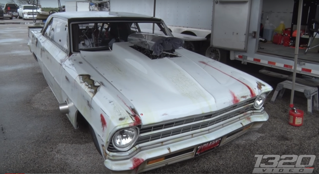 Video The No Prep White Zombie Nova Has Awakened White Zombie Racingjunk 67 Nova