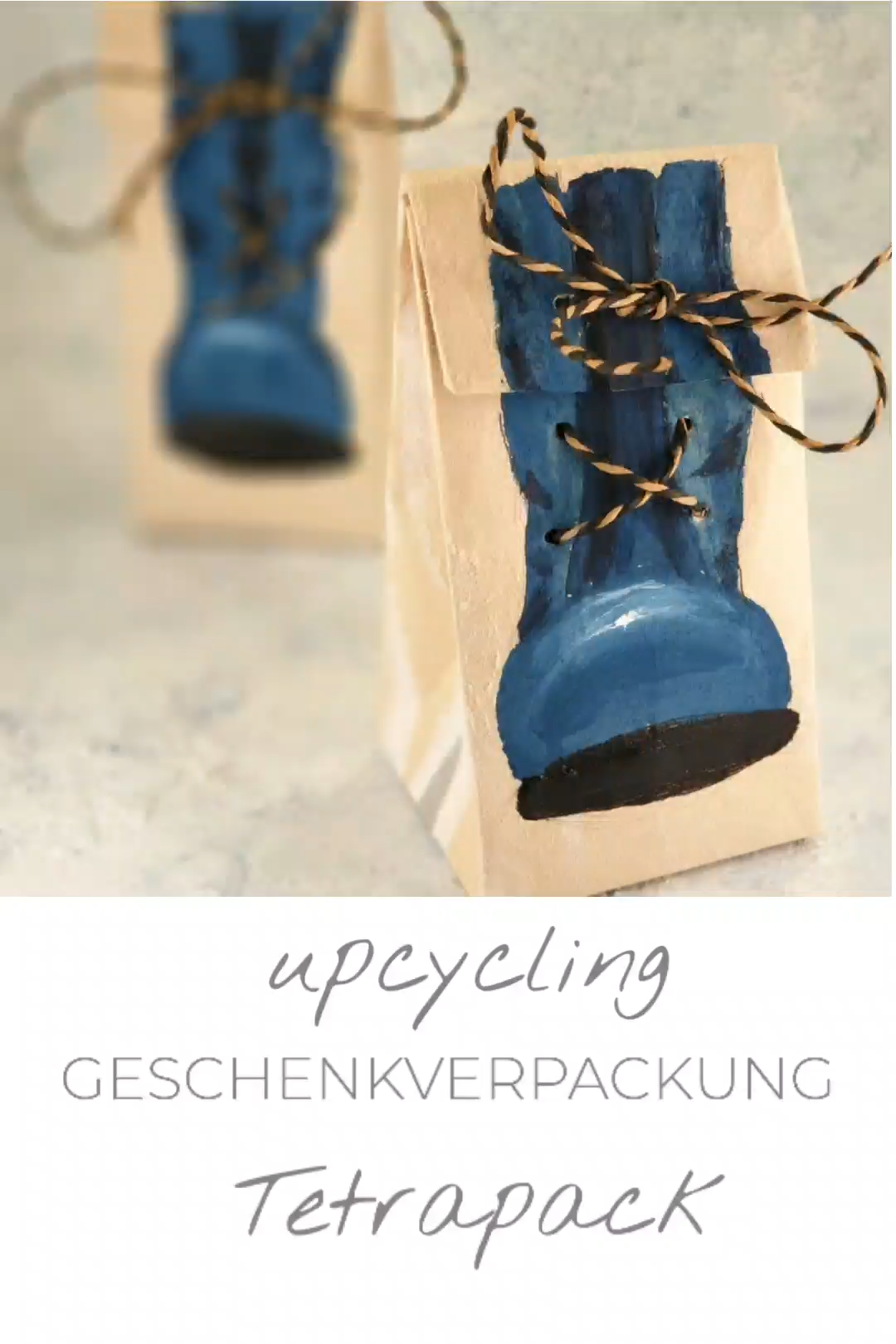 Photo of Wrapping gifts – upcycling from tetra packs