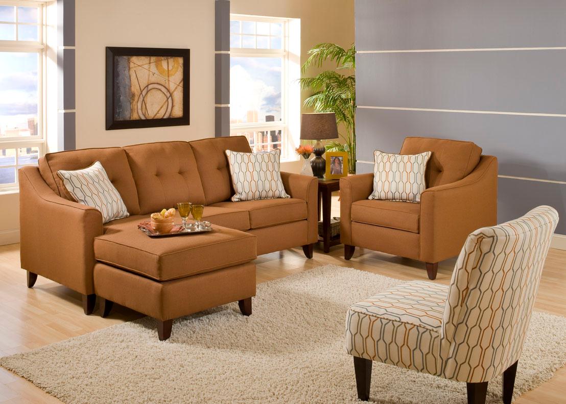 Best Washington 4743 Sofa Chaise Stoked Rust Bi Rite 400 x 300