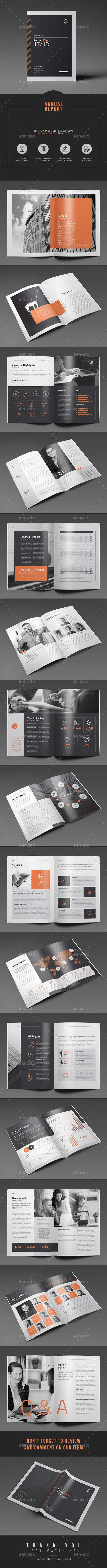 Annual Report | Diseño editorial, Editorial y Pagina web