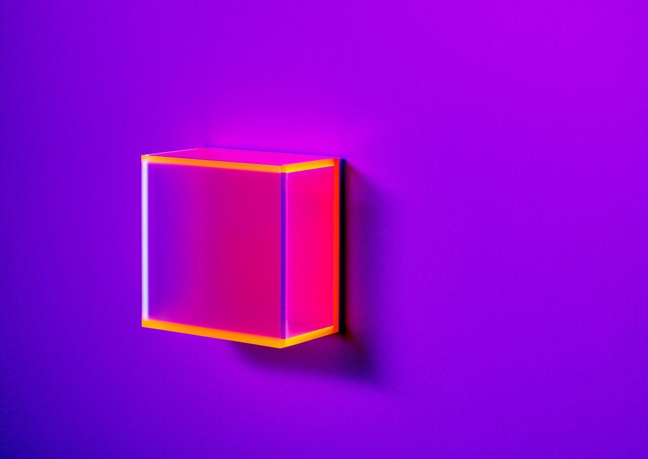 Regine Schumann / Color Satin New York / fluorescent acrylic