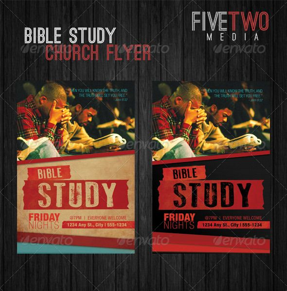 Church Bible Study Flyer Adobe Photoshop Churches And Adobe