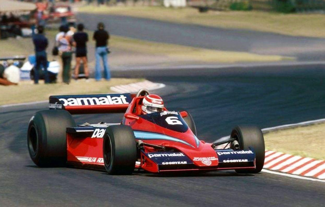 Nelson Piquet, Brabham BT46 Alfa, Argentina 1979 (unattributed)...