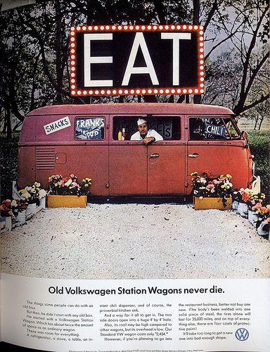 #vw #advertising #foodtruck