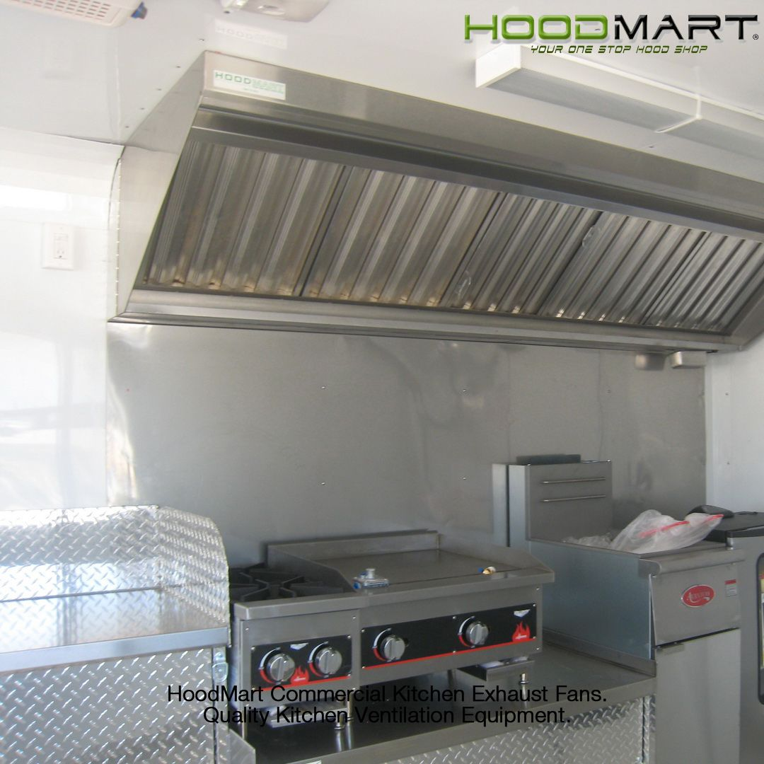 Commercial kitchen exhaust hoods are the most important