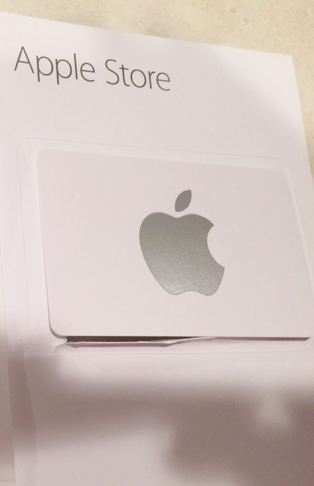 Apple Store Gift Card Value Of 37997 For 34000 Apples Store