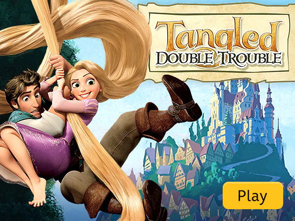 In Tangled Double Trouble you'll have to run, jump, and