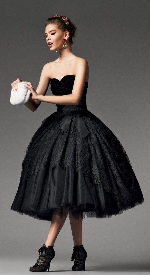 Top 40 Most Loved Tea Length Wedding Dresses   Black Weddings ...