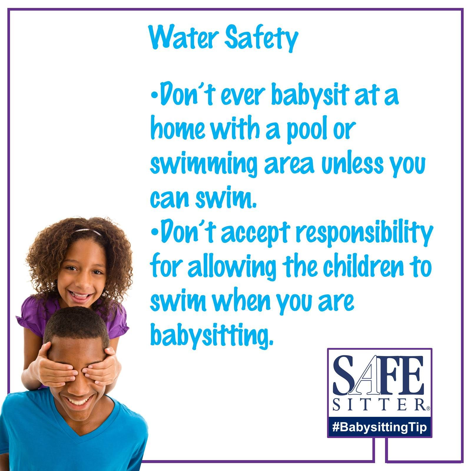 Water Safety Don T Babysit At A Home With A Pool Or