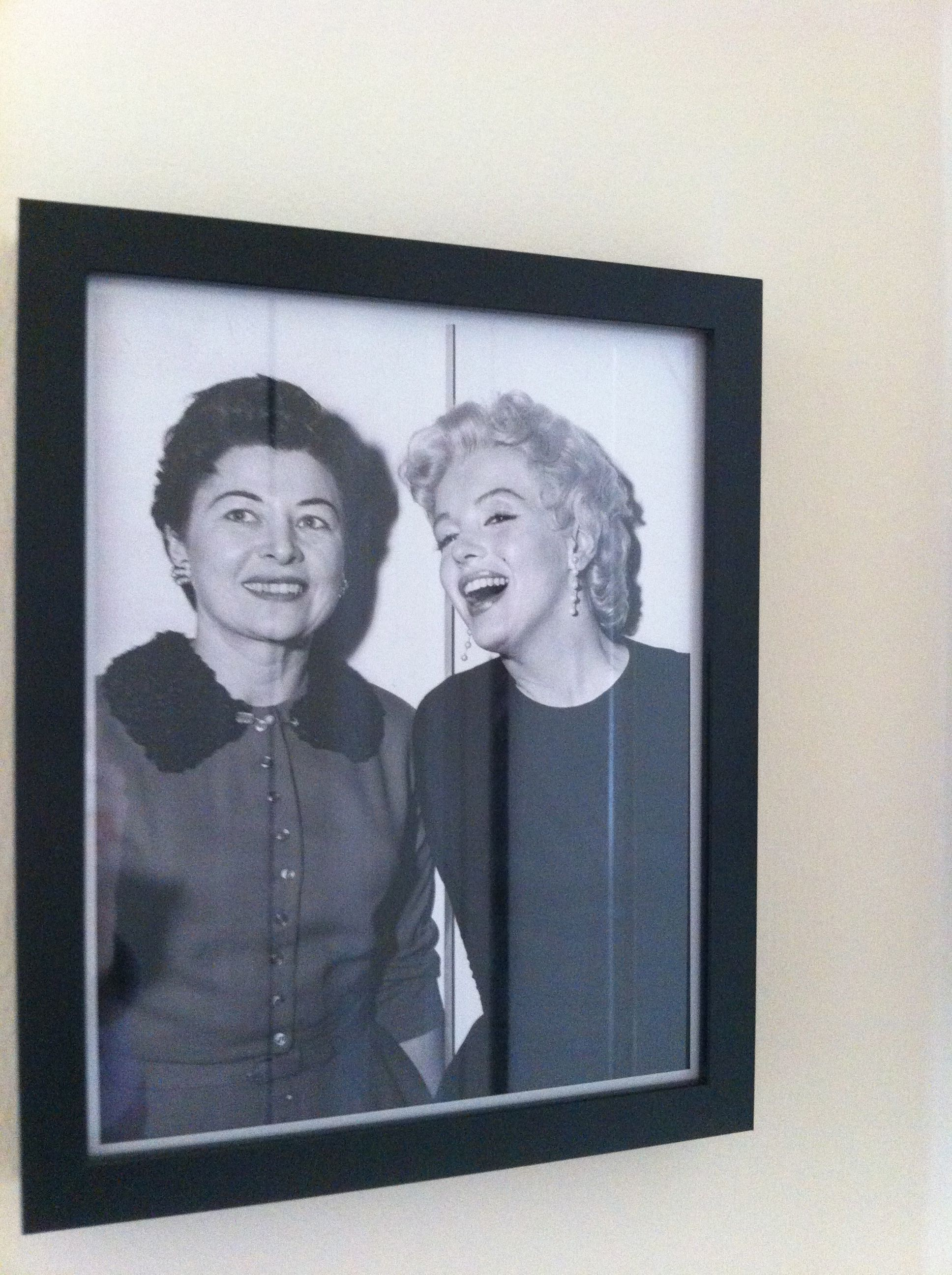 My Aunt Freya with Marilyn Monroe