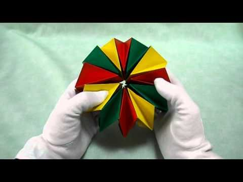 折り紙 万華鏡 簡単