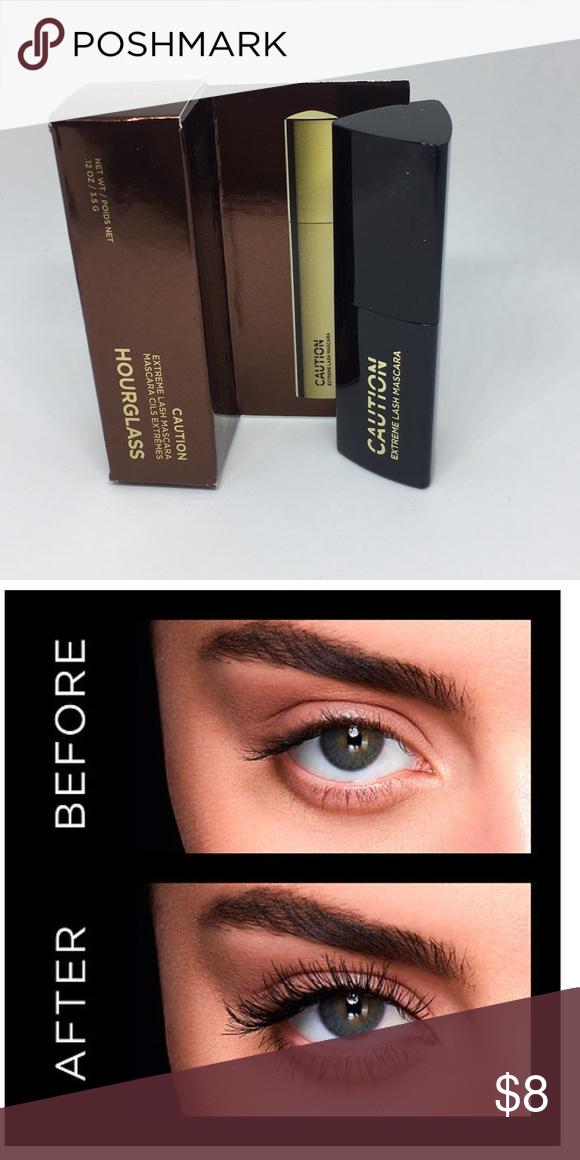 910987cdd1d Hourglass Caution Extreme Lash Mascara - New Brand New - Hourglass Caution  Extreme Lash Mascara - Ultra Black - Travel Size - 0.12 oz/3.5 g Hourglass  Makeup ...
