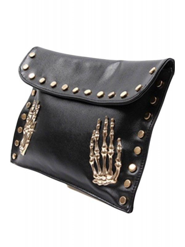Double Trouble Die My Darling Clutch Handbag