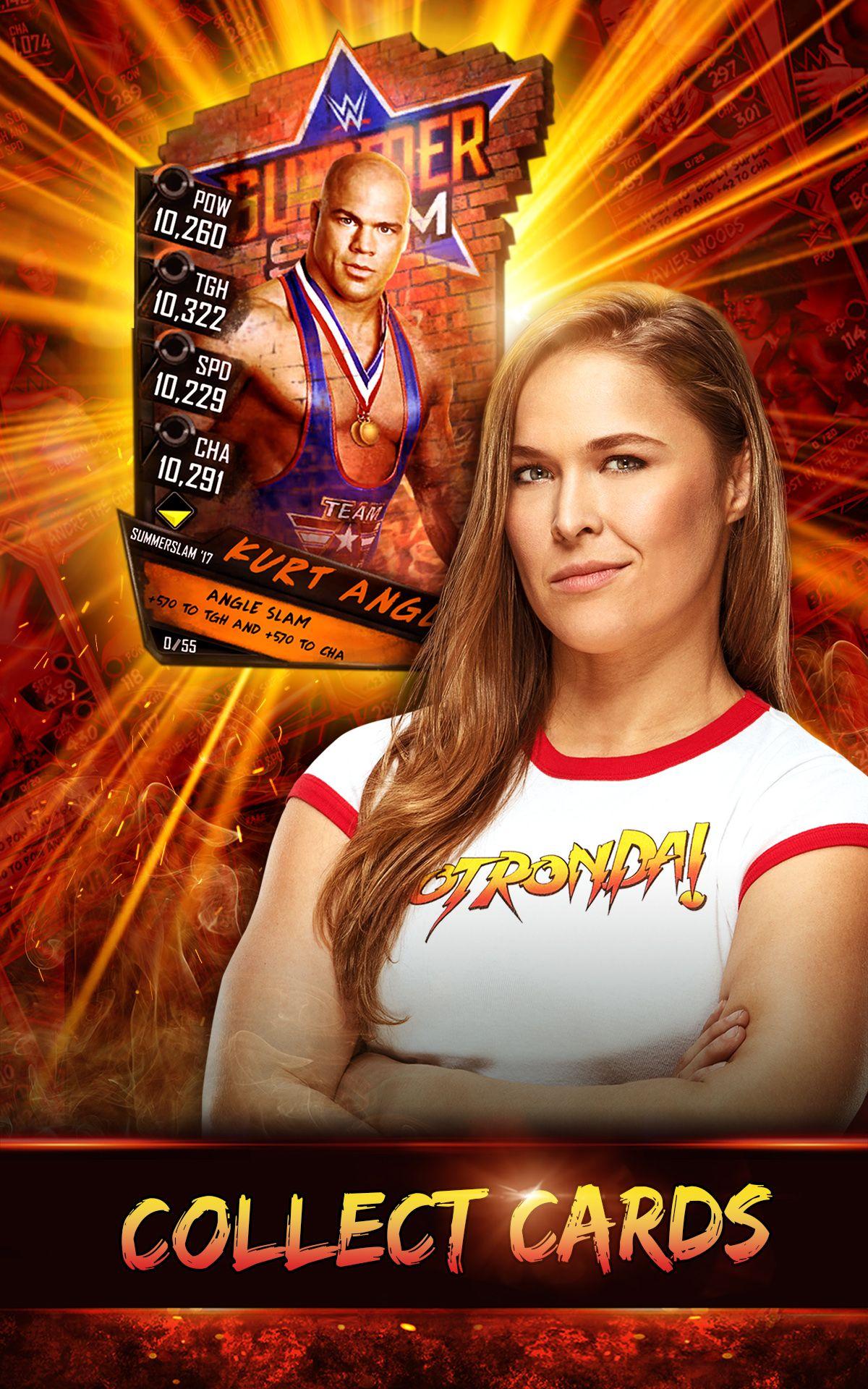 WWE SuperCard WWE, SuperCard Wwe, Game logo, Game app