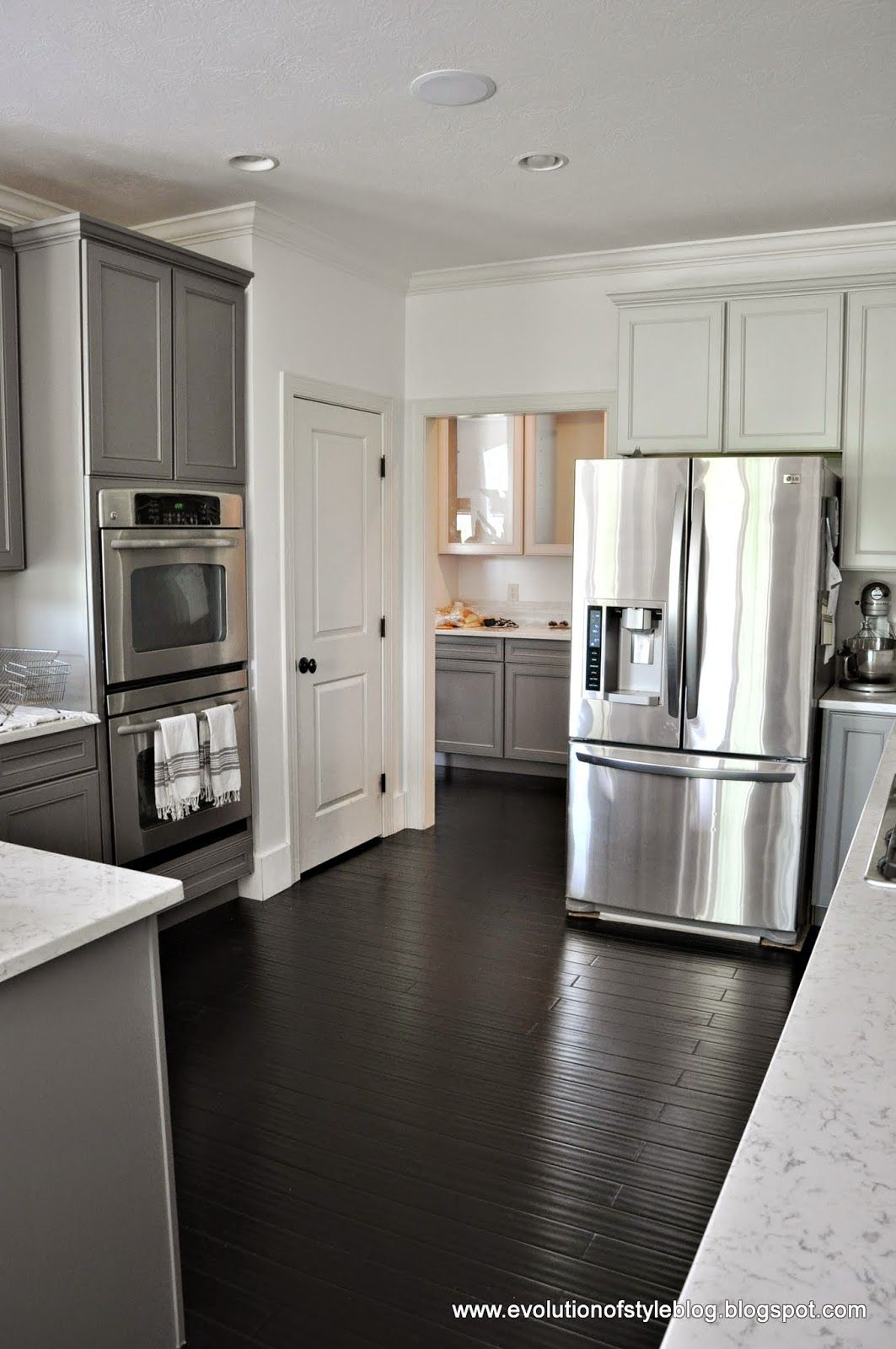 Best Painted Cabinets In Repose Gray And Gauntlet Gray New 400 x 300
