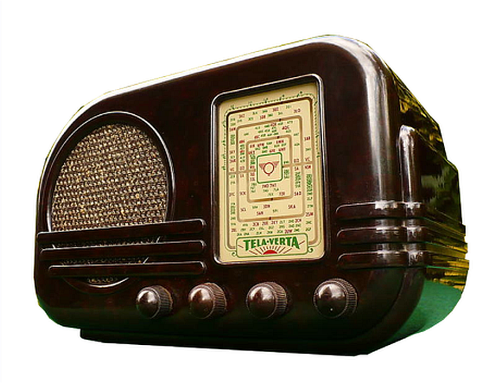 Tele verta 1947 australia radios radio for Mobilia anos 70