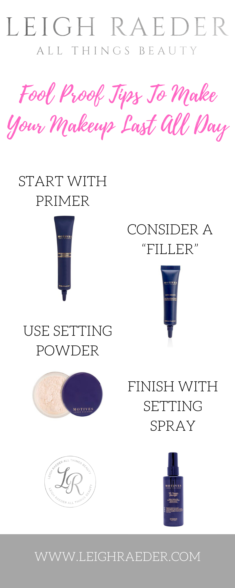 Fool Proof Tips to Make Your Makeup Last All Day in 2020
