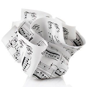 MoMA Crumpled Music Paperweight