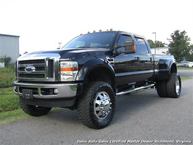 2008 Ford F 450 Super Duty Lariat Lifted Turbo Diesel 4x4 Dually