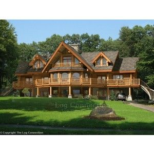 Dream Log Cabins / A log cabin in the country...maybe the mountains ...