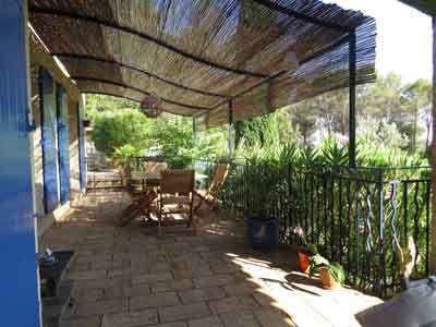 Terrasse des Chambres d\u0027hôtes à vendre à Trans-en-Provence dans le