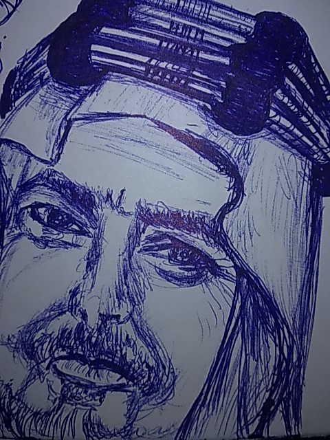 رسم بالحبر الأزرق Ink Pen Drawings Abstract Artwork Art