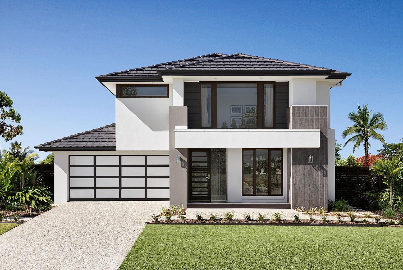 Sahara 39 Acacia facade House design, New home designs