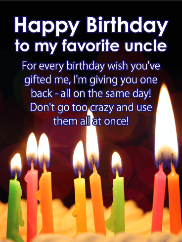 You Ve Done So Much Happy Birthday Card For Uncle Birthday Greeting Cards By Davia Happy Birthday Cards Birthday Wishes For Him Birthday Wishes
