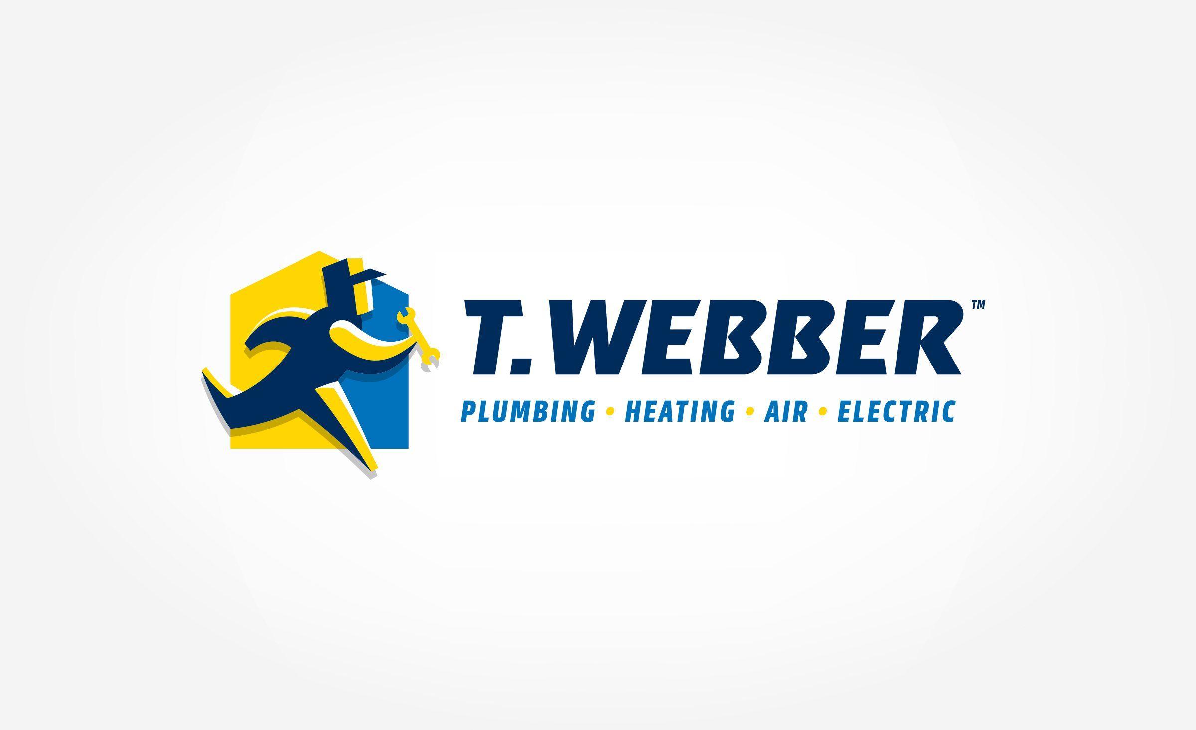 T Webber Kickcharge Creative Plumbing Logo Cool Logo Logos