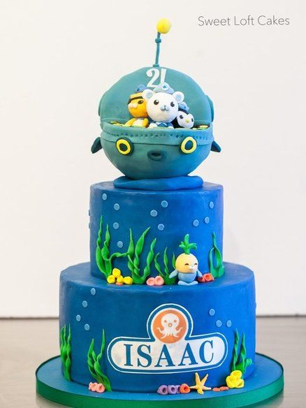 How to Make Octonauts Cake Octonauts Birthday Cake by SweetLoft