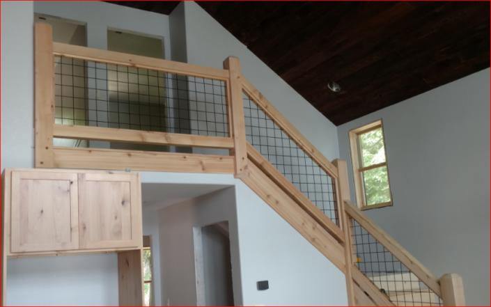 Deck Stair Hand Railing Ideas