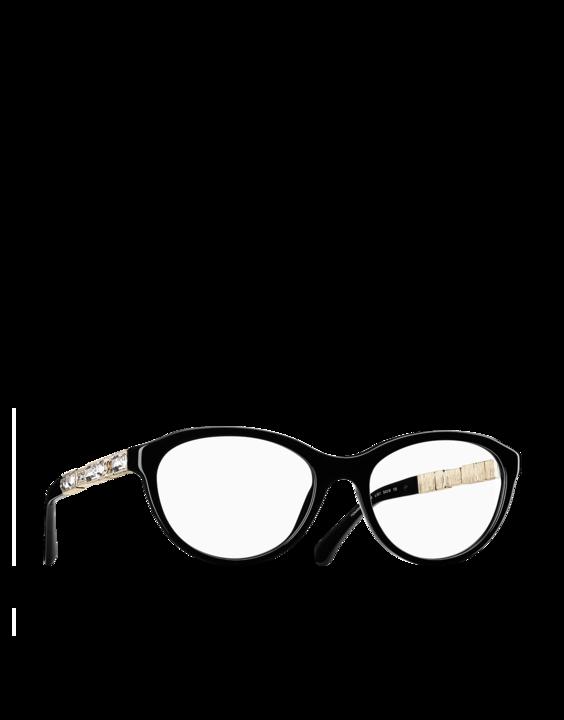 fc755fd5d09c CHANEL, Pantos Acetate eyeglasses in black. | (sun)glasses | Fashion ...