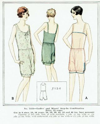 A Few Threads Loose: My Favorite 1920\'s Teddies... and a free sewing ...