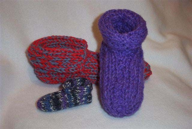Knitting Easy Slippers : Free easy knitting patterns bing images jinx