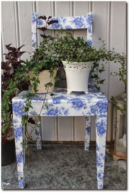 60 εξαιρετικές ιδέες για Decoupage σε καρέκλες! | Φτιάξτο μόνος σου    Κατασκευές DIY