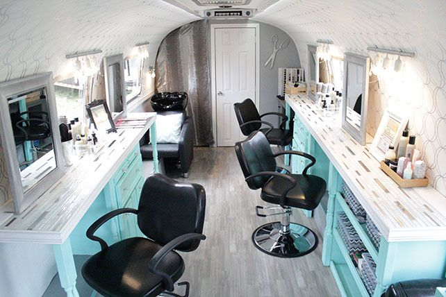 Pin By Jacqueline Marquez On New House Mobile Beauty Salon