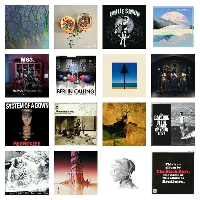 Tag : 15 favorite albums