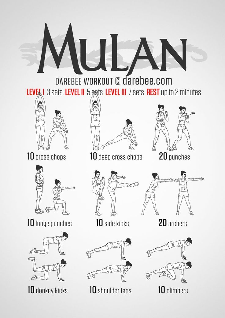 Tired Of Your Workout? 14 Superhero Workouts To Add To ...