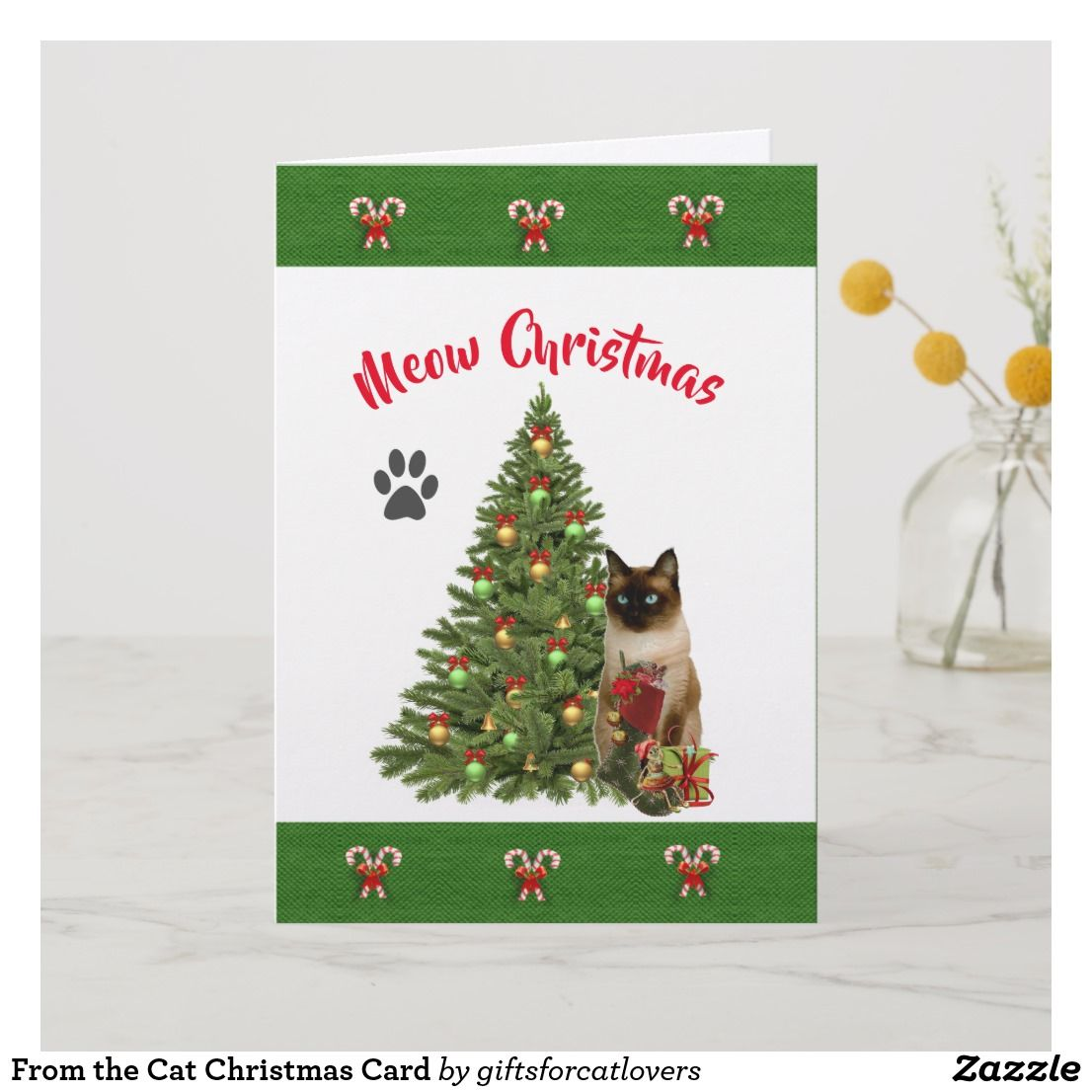 Tin Meowy Christmas Custom Cat Cards Www Tollebild Com