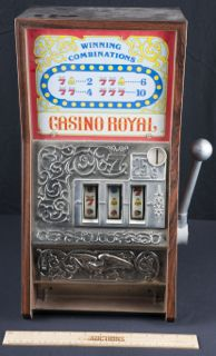 Vintage casino royale slot machine coin bank by waco how to get free poker chips on zynga poker