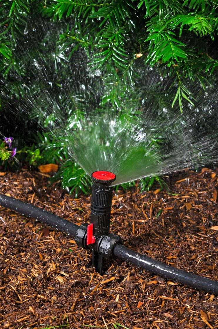 how to set up sprinklers