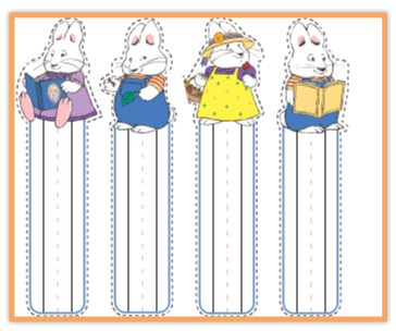 Max and Ruby printables Coloring Pages Book Characters