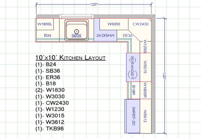 10 X 14 Kitchen Layouts Design Ideas